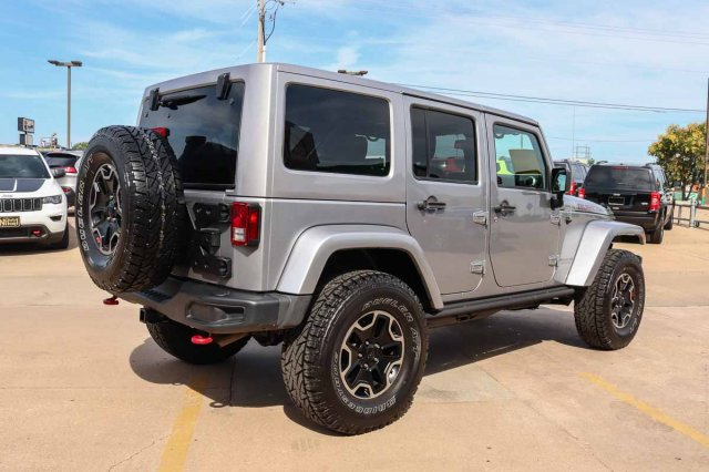 Pre-Owned 2015 Jeep Wrangler Unlimited Rubicon Hard Rock