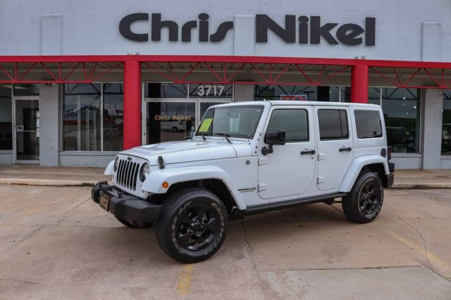 Pre-Owned 2015 Jeep Wrangler Unlimited Altitude