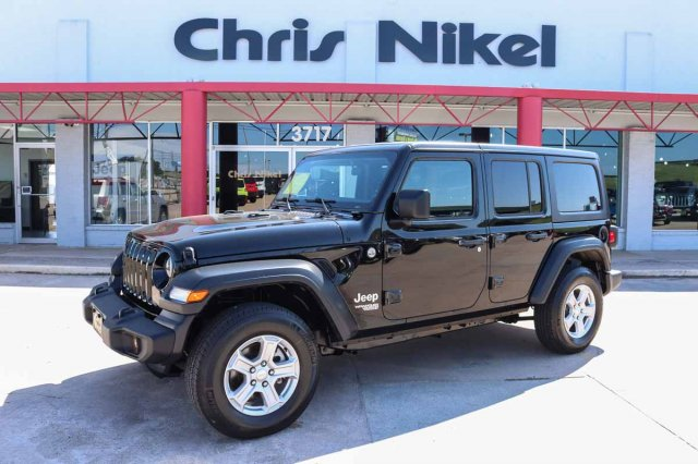 Pre-Owned 2019 Jeep Wrangler Unlimited Sport S