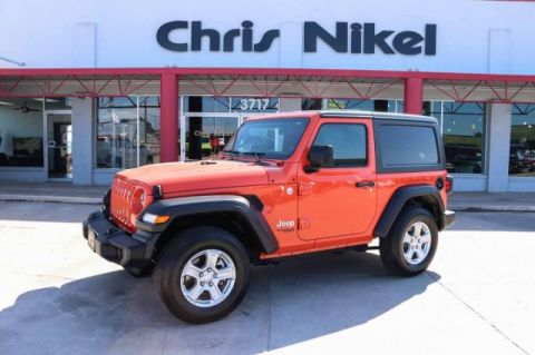 Pre-Owned 2019 Jeep Wrangler Sport S