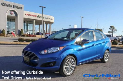 Pre-Owned 2018 Ford Fiesta Titanium